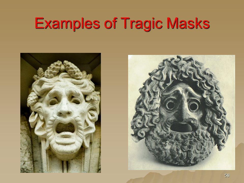 58 Examples of Tragic Masks