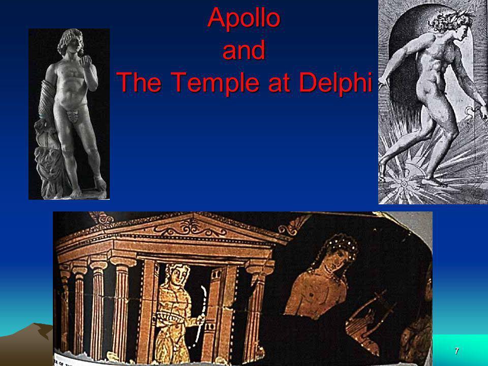 7 Apollo and The Temple at Delphi