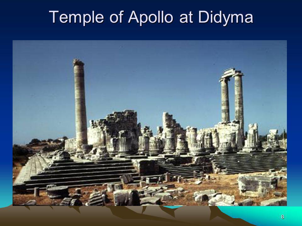 8 Temple of Apollo at Didyma
