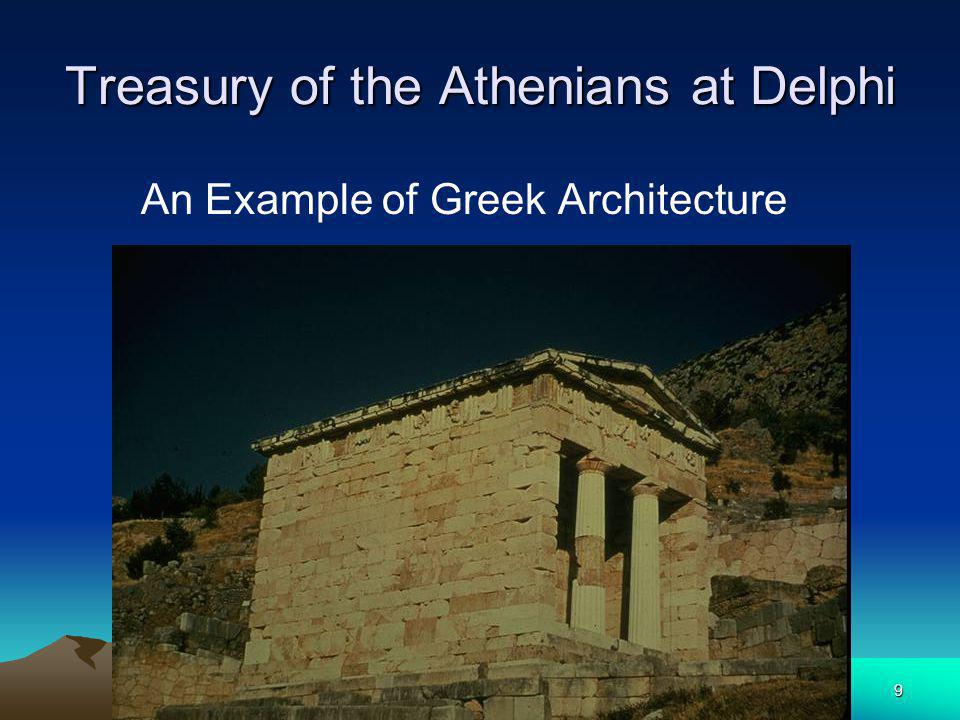 9 Treasury of the Athenians at Delphi An Example of Greek Architecture