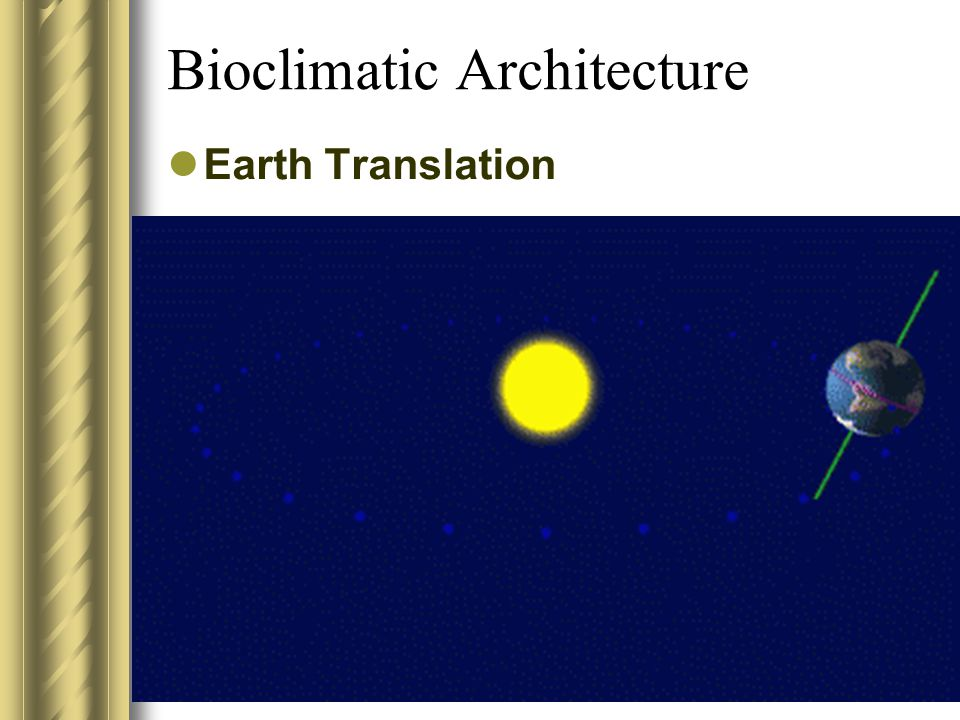 Bioclimatic Architecture Earth Translation