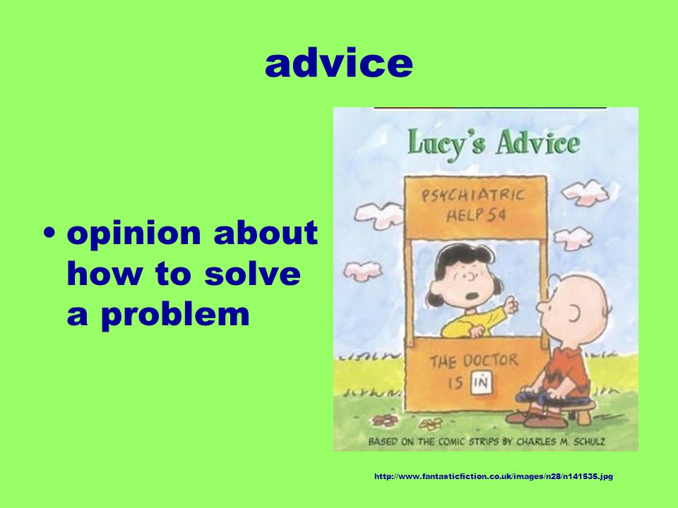 advice opinion about how to solve a problem http://www.fantasticfiction.co.uk/images/n28/n141535.jpg