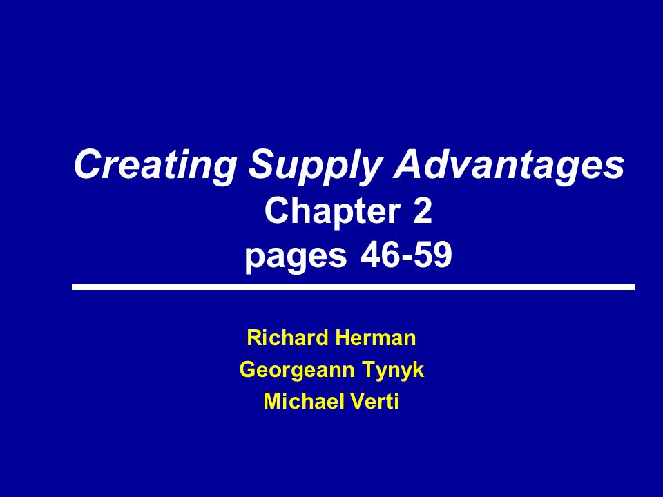 Effective supply chain Management optimizes People & Technology Sourcing Supplier Mgmt & Development Day-to Day Purchasing Performance MgmtInformation Mgmt Human Resource Mgmt P&S Strategy Organization House of Purchasing & Supply Framework