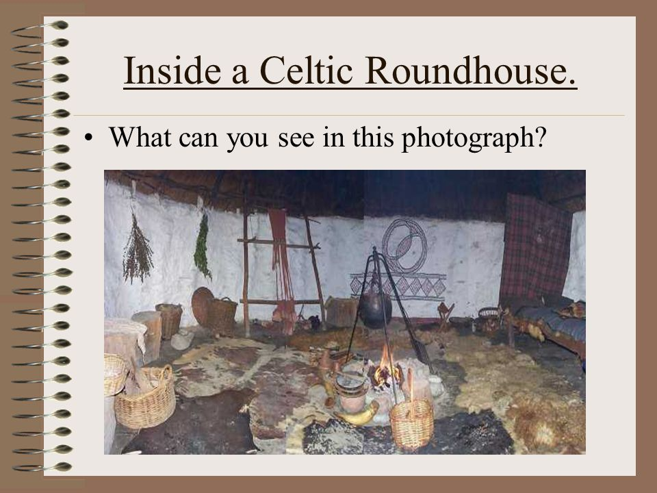 How did the Celts build Roundhouses? Click on this CelticRoundhouse to see how!