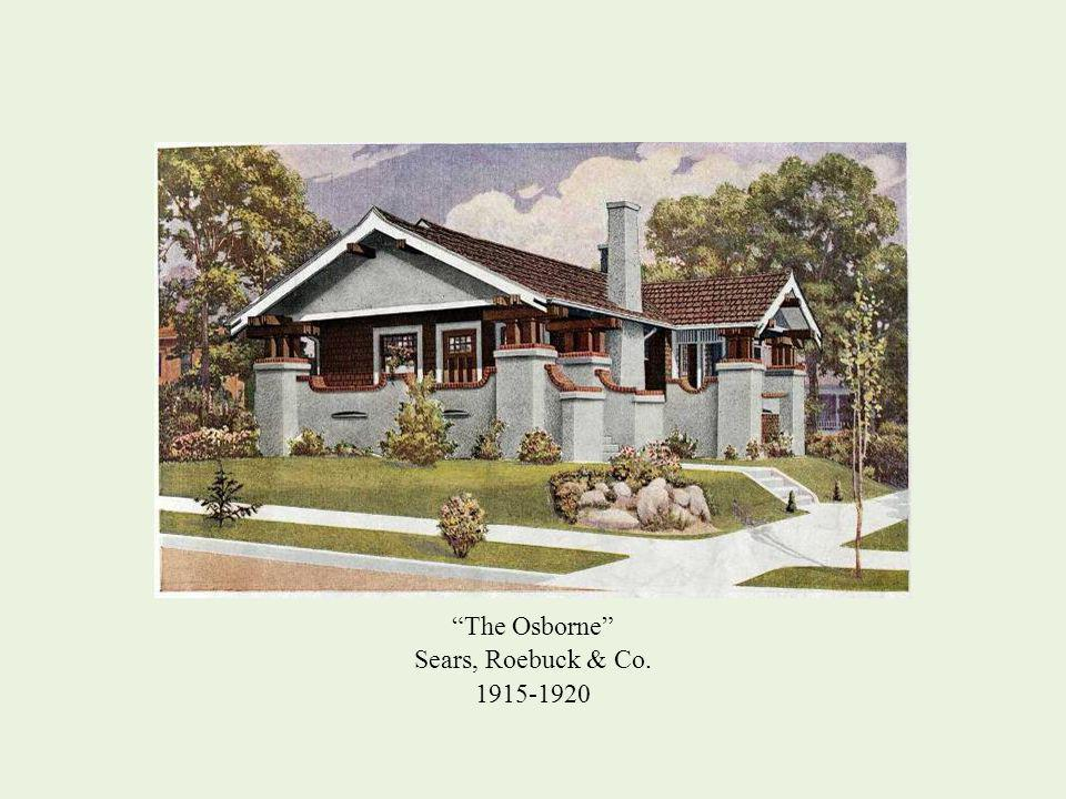 The Osborne Sears, Roebuck & Co. 1915-1920