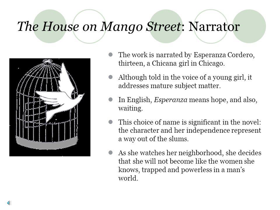 Books by Sandra Cisneros Bad Boys, Mango Press: San Jose, California, 1980 The House on Mango Street, (Arte Publico Press: Houston, Texas, l984), Vint
