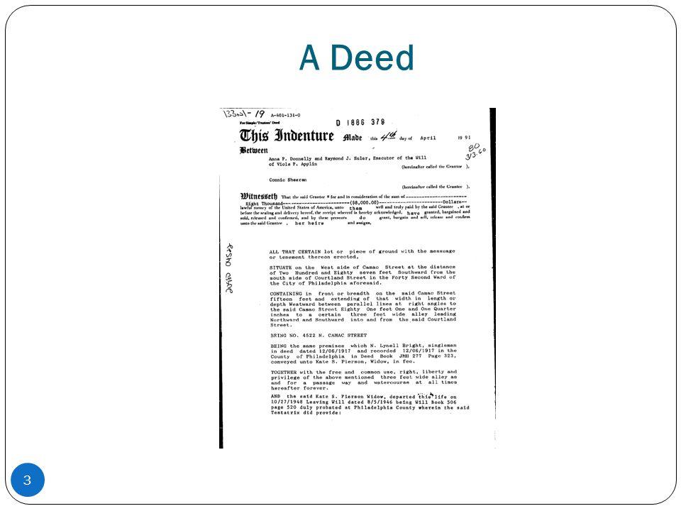 A Deed 3