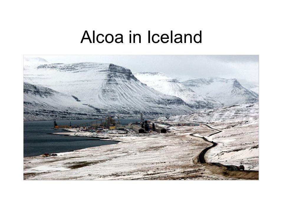 Alcoa in Iceland
