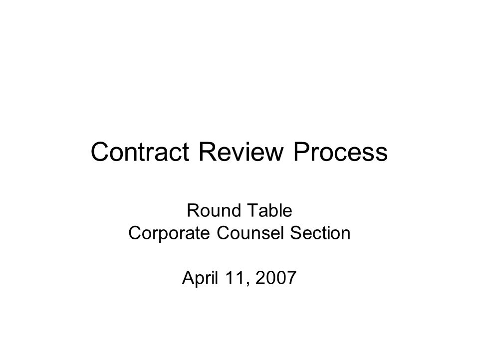 2 Why is a contract review policy important: Control measures Identifies types of documents that require legal review contracts, letter agreements, amendments, $ amount, etc Communicates an approval procedure Creates awareness of the need to have contracts reviewed by legal Establishes signature authority Limits the number of signatories Sarbanes-Oxley compliance (public company)