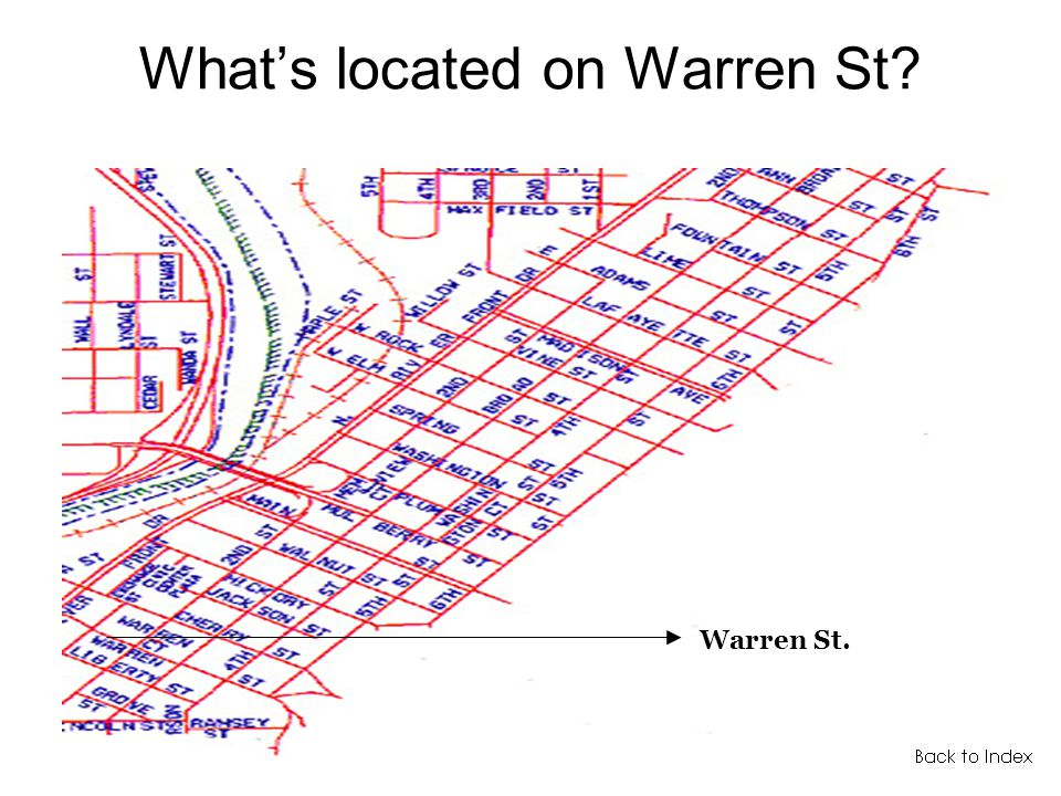 Whats located on Warren St Warren St.