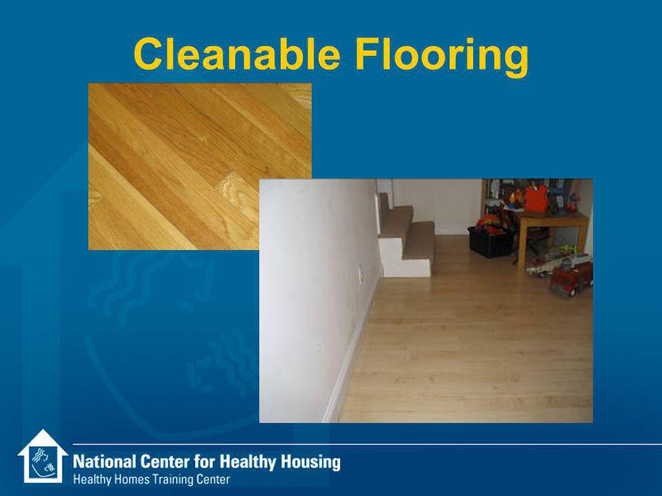 Cleanable Flooring
