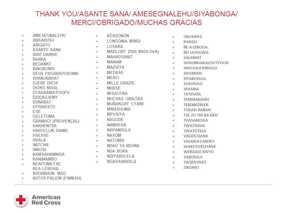 THANK YOU/ASANTE SANA/ AMESEGNALEHU/SIYABONGA/ MERCI/OBRIGADO/MUCHAS GRACIAS AMESEGNALEHU ANSAKUSU ARIGATO ASANTE SANA BAIE DANKIE BARKA BEDANKT BINOBONDI DEUS PAGARAPUSUNKI DHANJABHAT DJERE DIEUF DIOKO NDIAL DYARAAMA/FOOFU DZIĘKUJEMY DUNABAT EFHARISTO ESE GELETOMA GRAMACI (PROVENÇAL) HAKHENTSA HARTELIJK DANK.