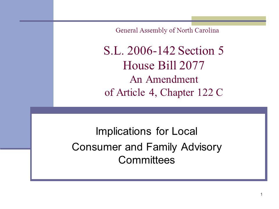 1 General Assembly of North Carolina S.L.