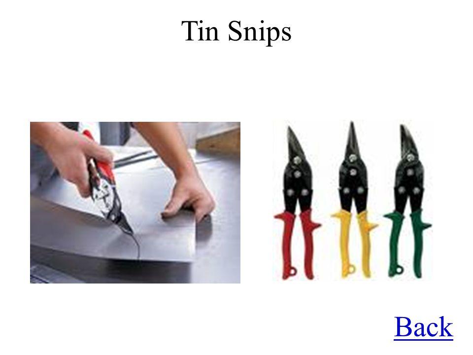 Back Tin Snips