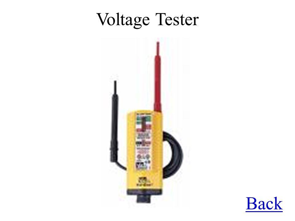 Back Voltage Tester