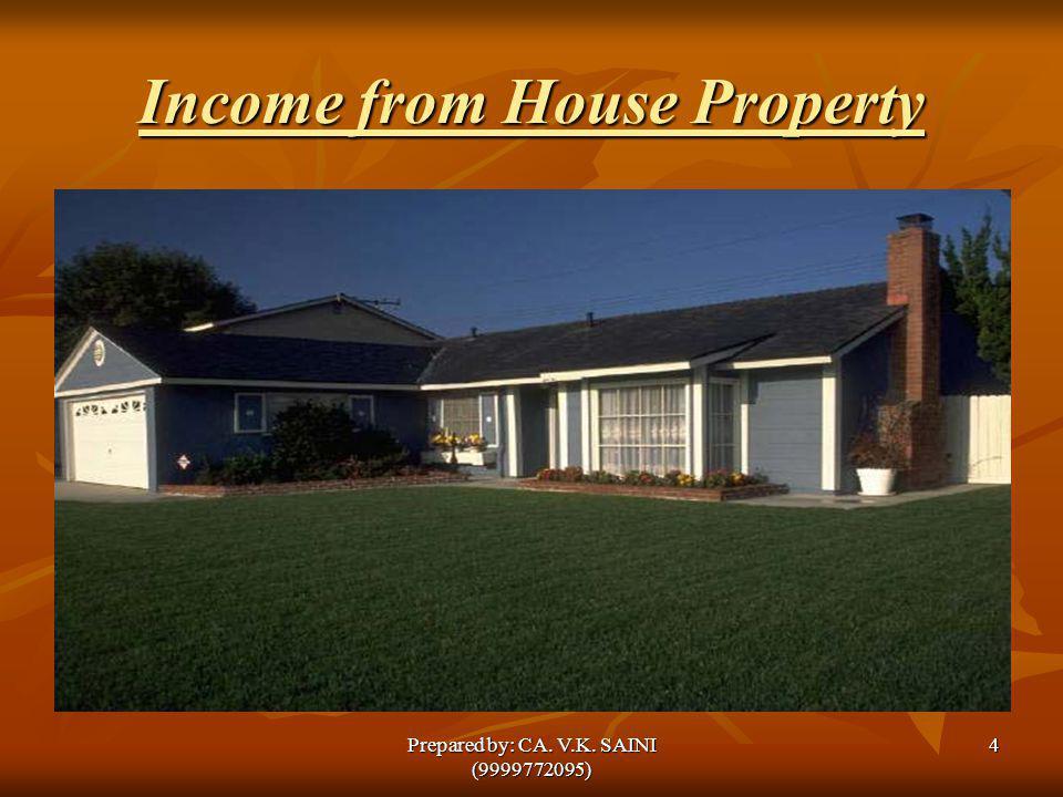 Wealth Tax Act,1957 45Prepared by: CA. V.K. SAINI (9999772095)