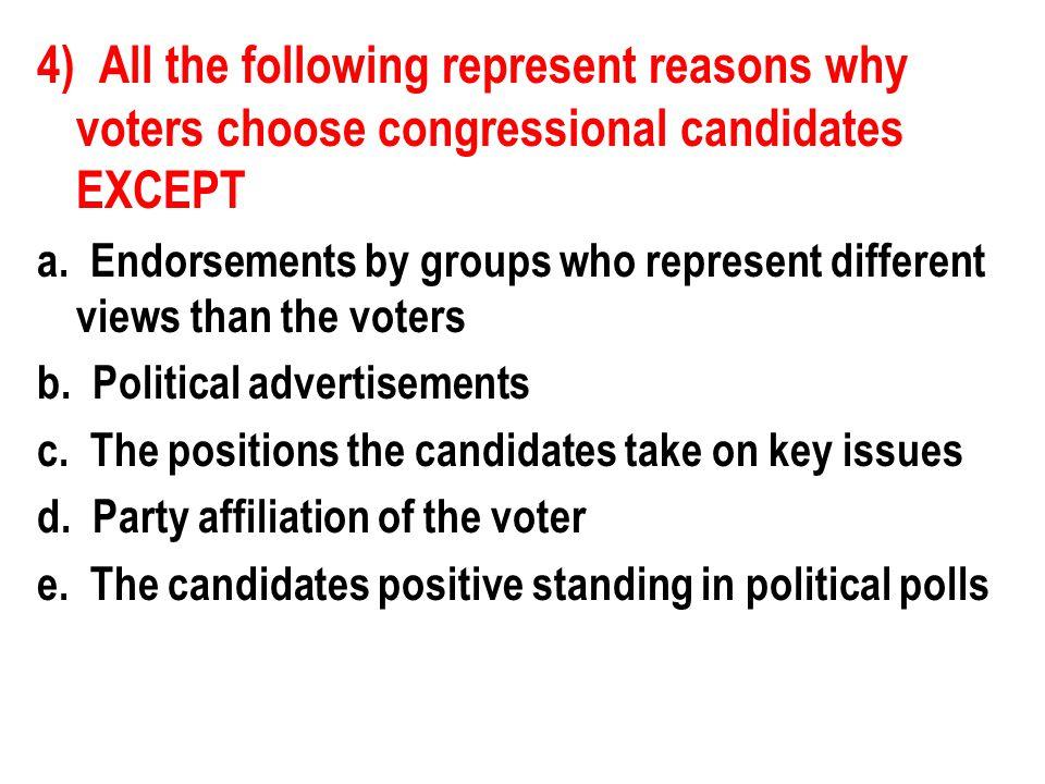 17) Pork barrel legislation helps the reelection chances of members of Congress because such legislation a.