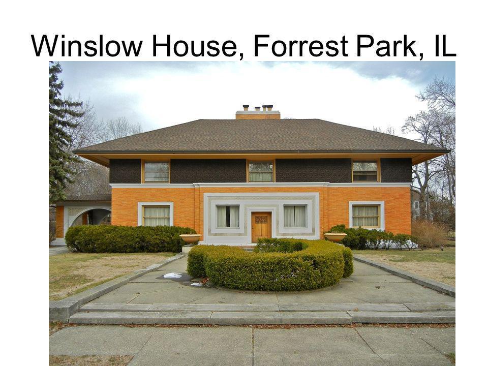 Winslow House, Forrest Park, IL