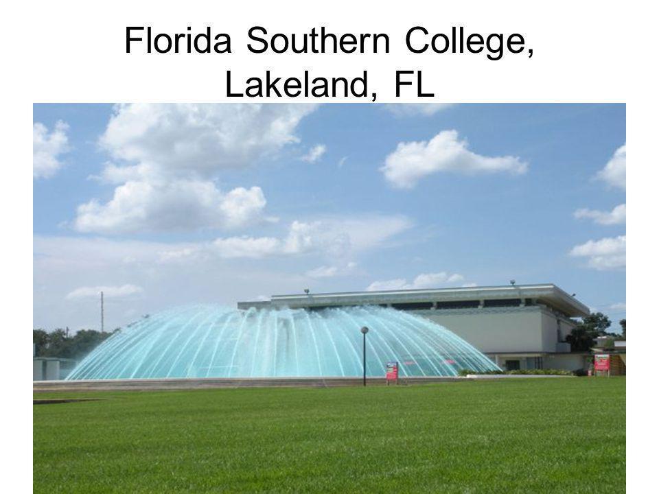 Florida Southern College, Lakeland, FL