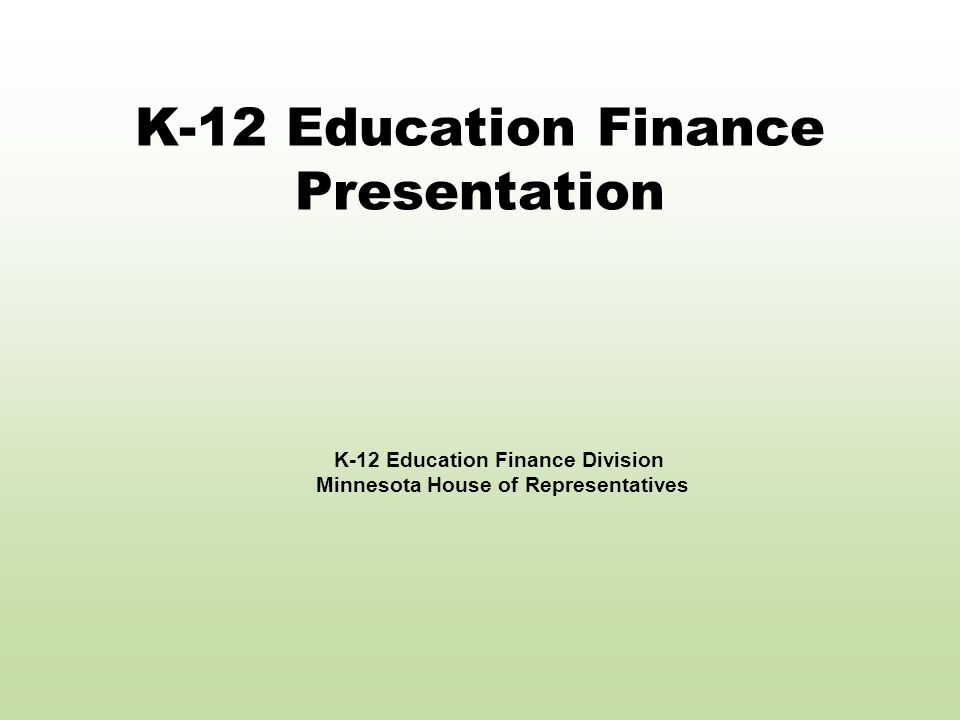 5/28/08Minnesota House of Representatives12 New Declining Revenue Formula Creates new component of general education revenue called declining enrollment revenue.
