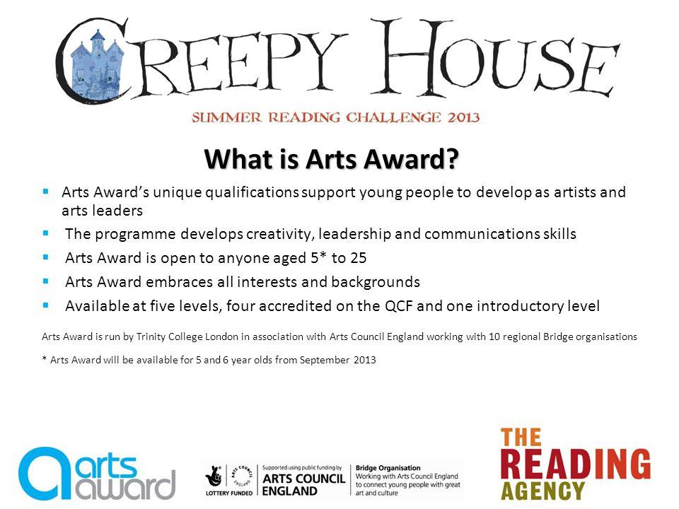 What do children do for Arts Award Discover.