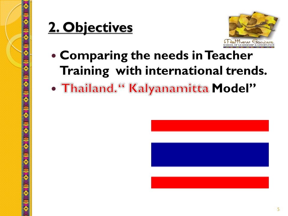 2. Objectives 5
