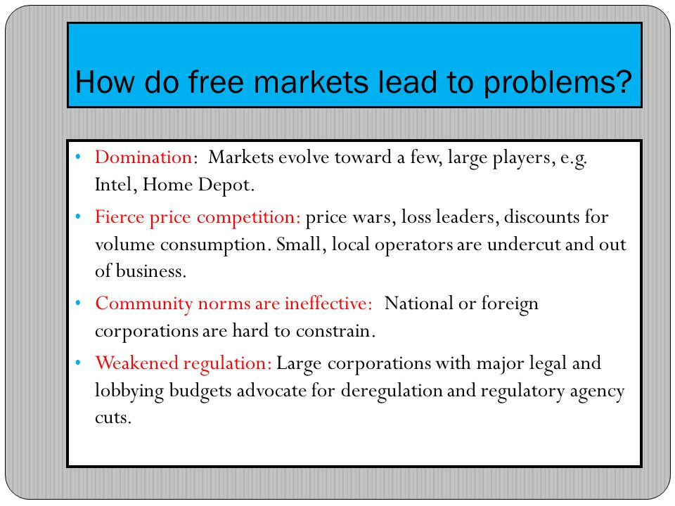 Todays market problem: Supermarkets high volume, low prices How can supermarkets survive.