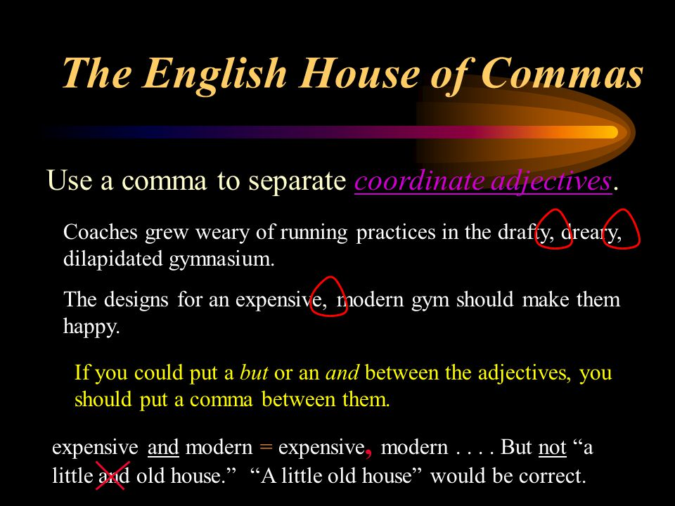 Use a comma to set off introductory elements.