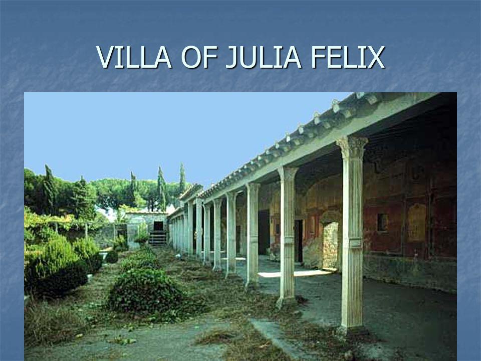 VILLA OF JULIA FELIX