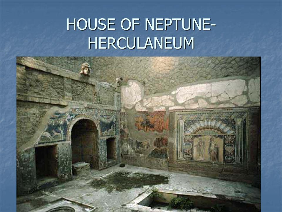HOUSE OF NEPTUNE- HERCULANEUM