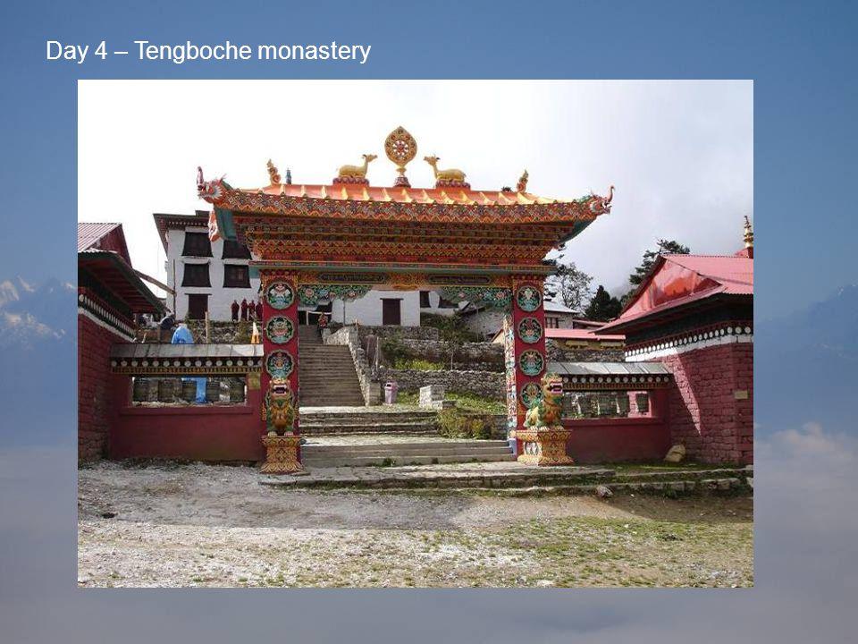 Day 4 – Tengboche monastery