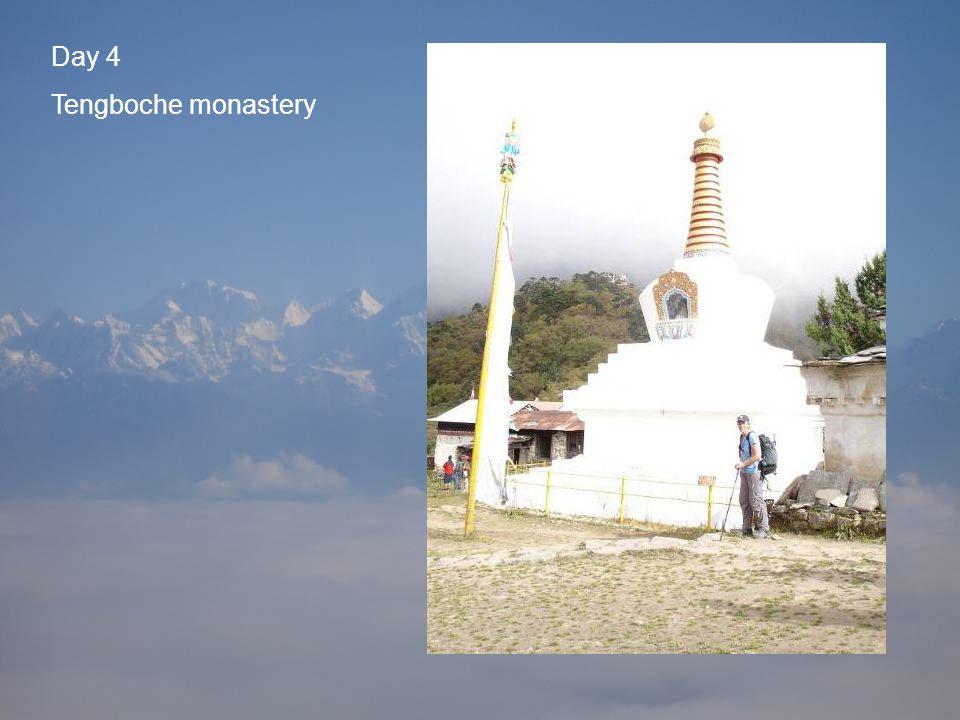 Day 4 Tengboche monastery