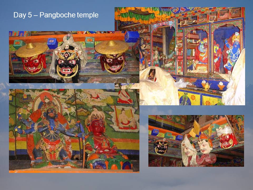 Day 5 – Pangboche temple