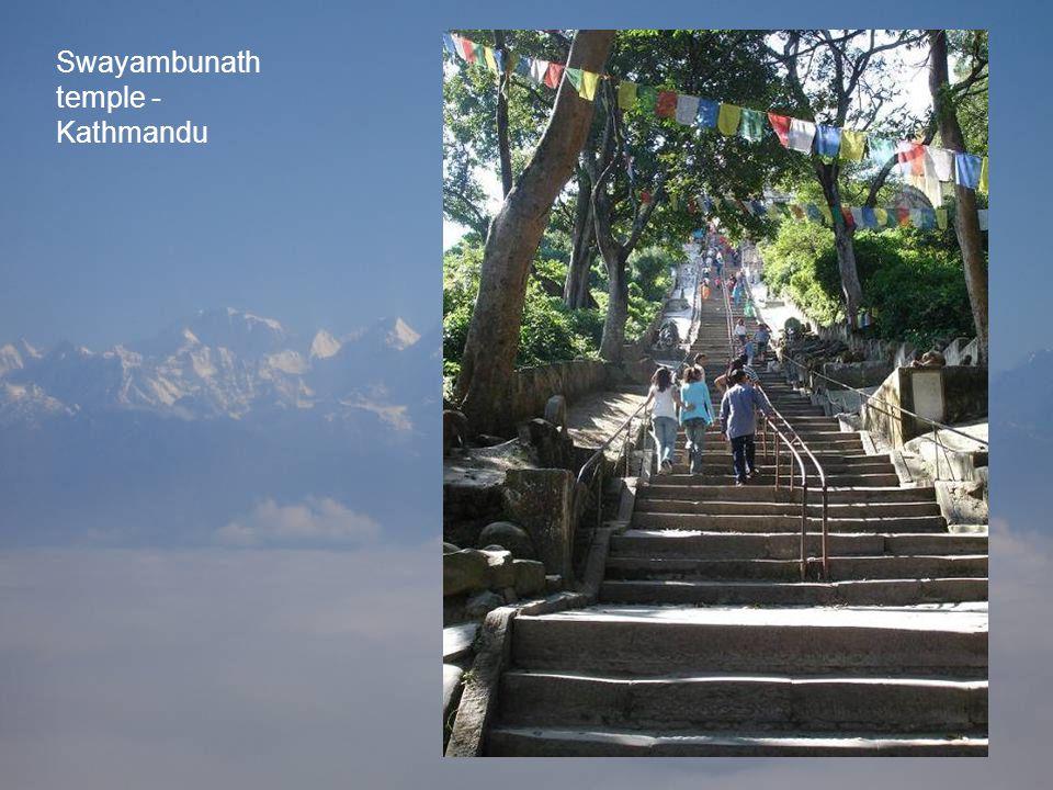 Swayambunath temple - Kathmandu