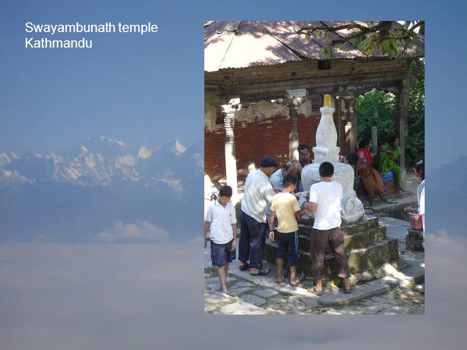 Swayambunath temple Kathmandu