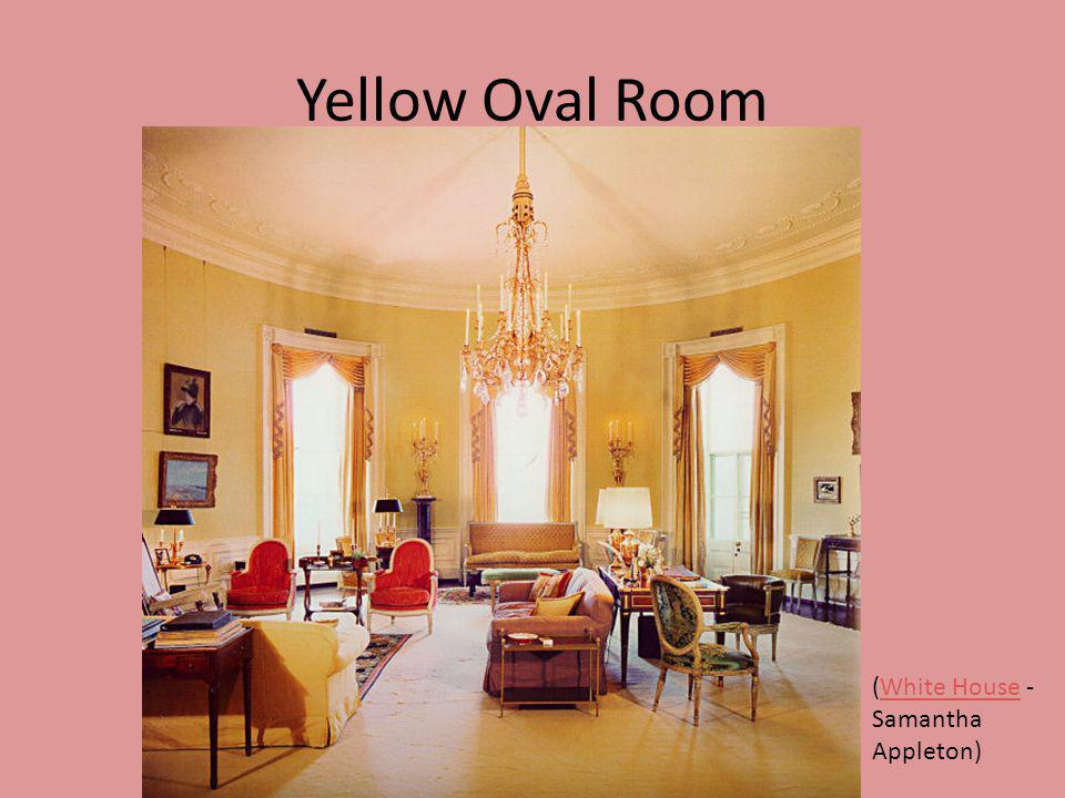 Yellow Oval Room (White House - Samantha Appleton)White House