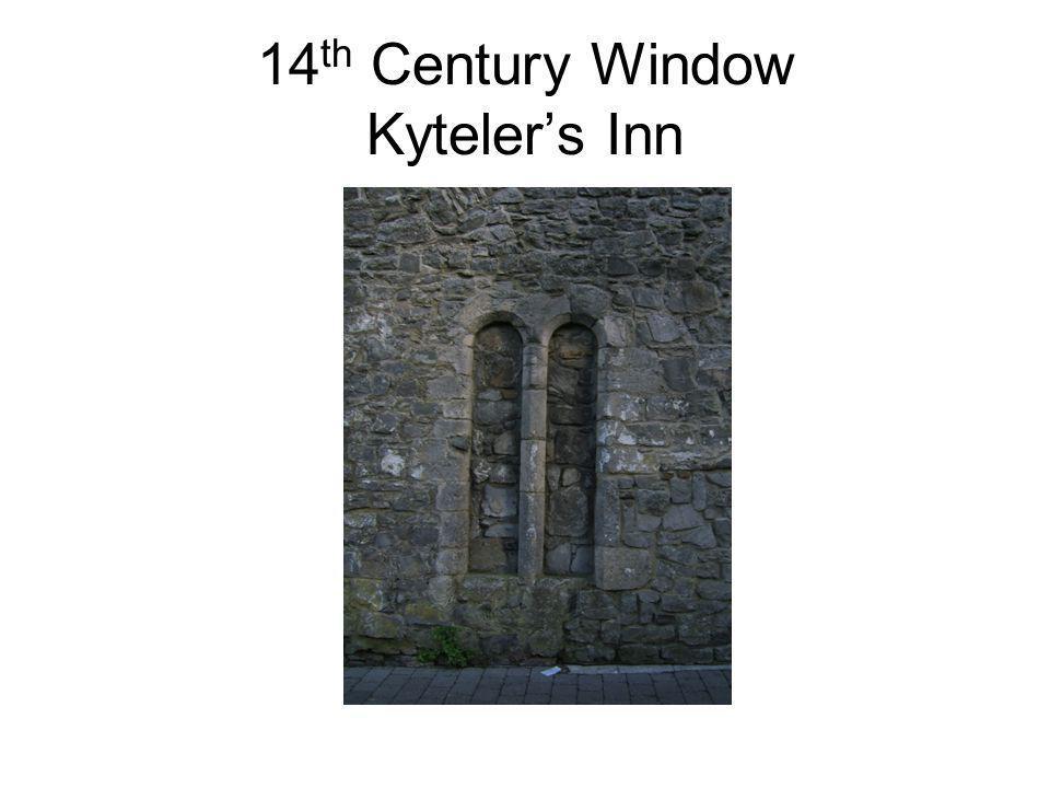 14 th Century Window Kytelers Inn