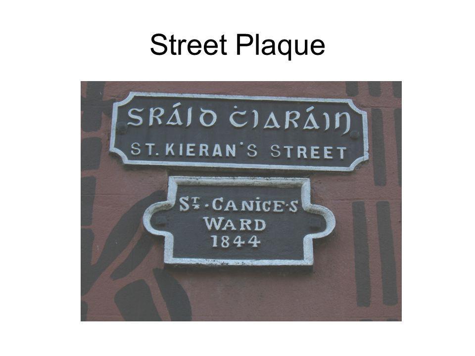 Street Plaque