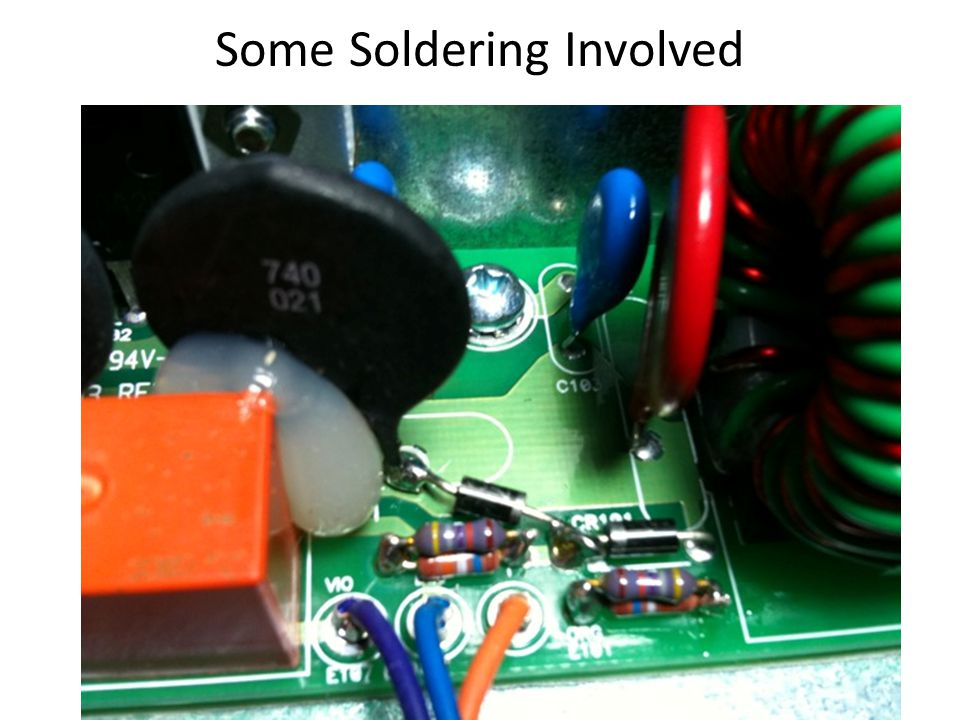 Some Soldering Involved