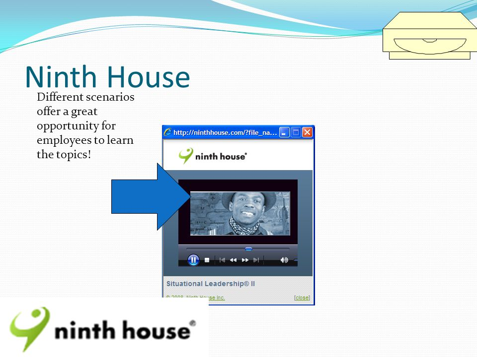 Ninth House Different scenarios offer a great opportunity for employees to learn the topics!