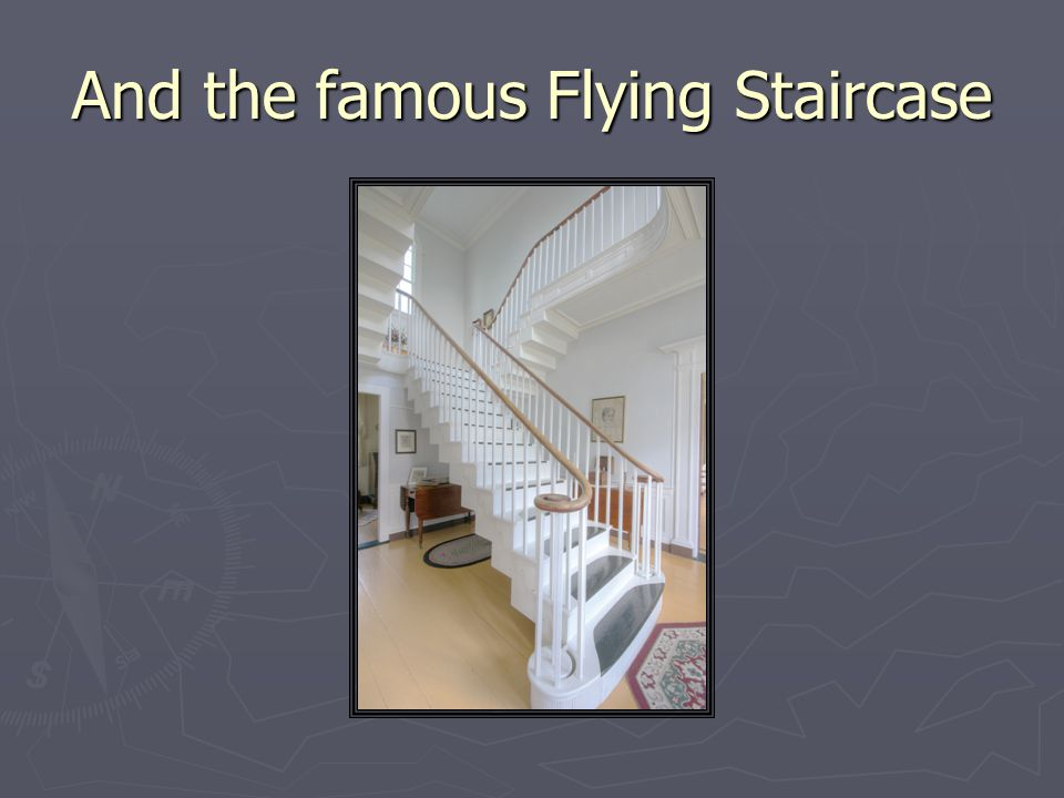 And the famous Flying Staircase