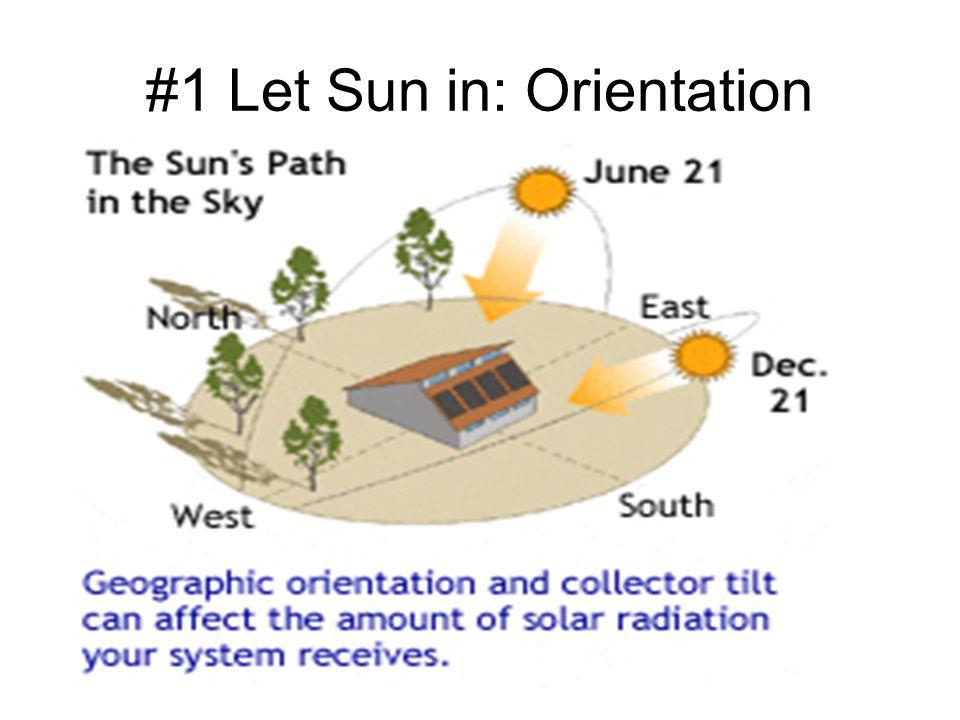 #1 Let Sun in: Orientation