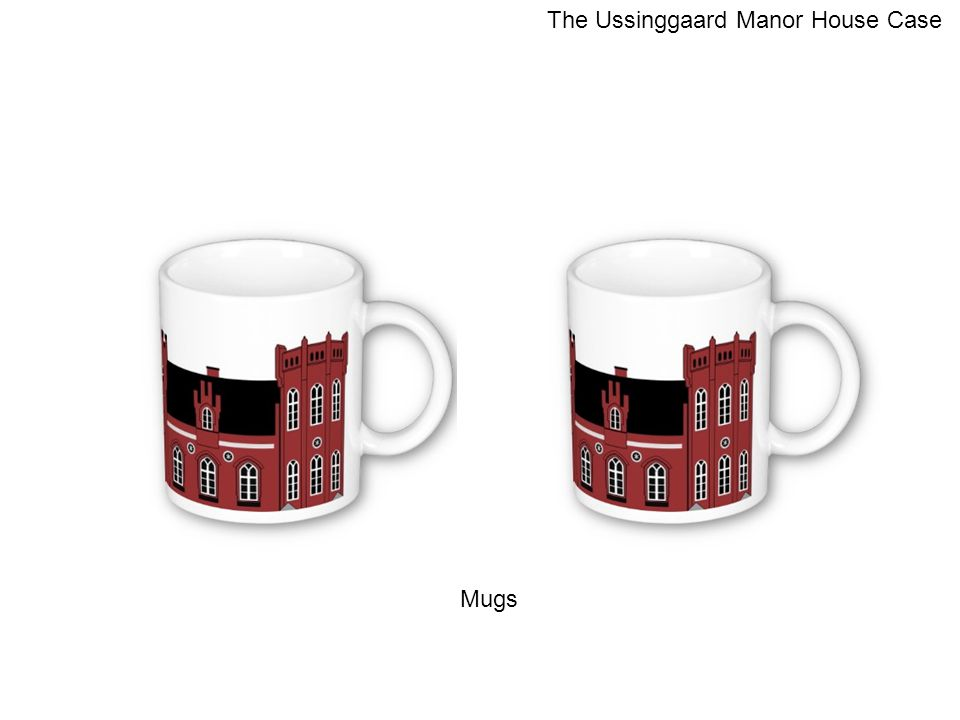 Mugs The Ussinggaard Manor House Case