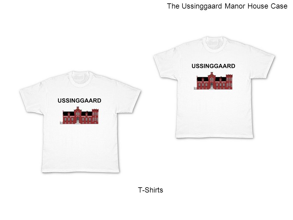 T-Shirts The Ussinggaard Manor House Case