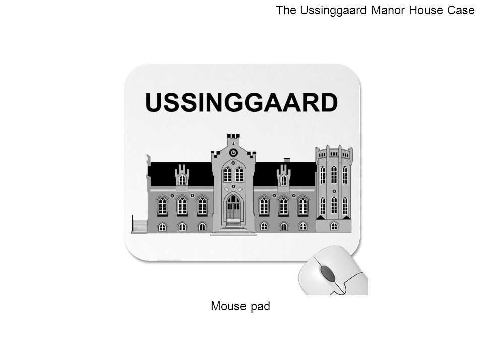 Mouse pad The Ussinggaard Manor House Case