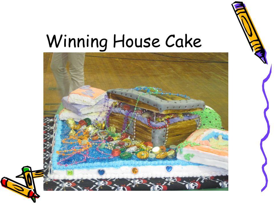 Winning House Cake