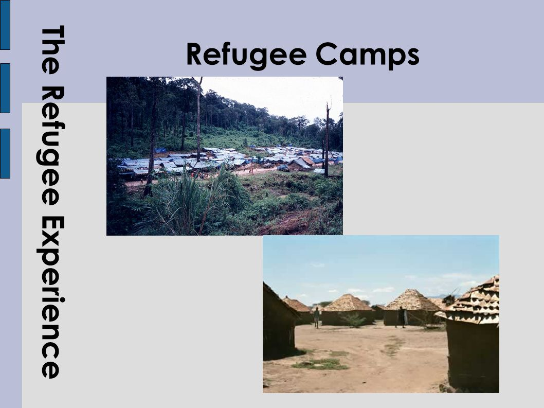 The Refugee Experience Refugee Camps