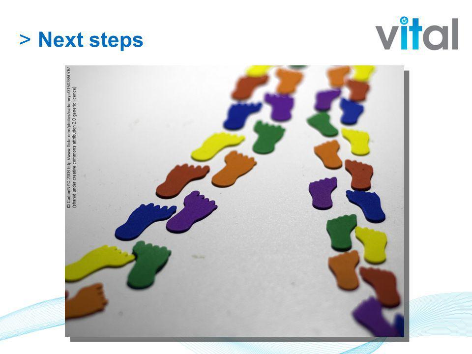 >Next steps