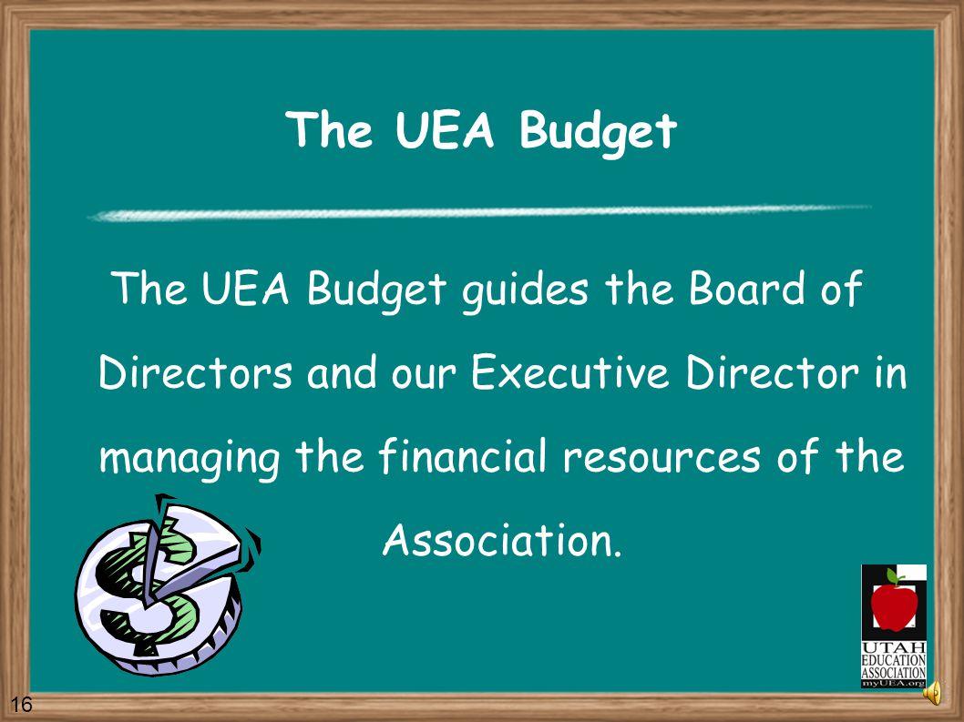 Legislative Program Amendments The UEA Legislative Program and the Legislative Priorities can be amended by a majority vote of the House of Delegates.