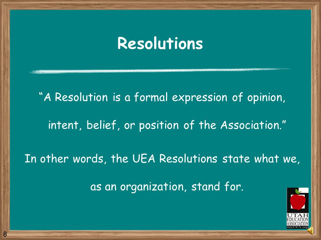 Remember … UEA is YOUR Association 28